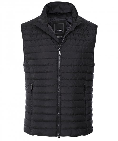 Geox Water-Repellent Quilted Wilmer Gilet