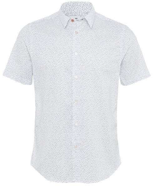 Paul Smith Slim Fit Short Sleeve Printed Shirt