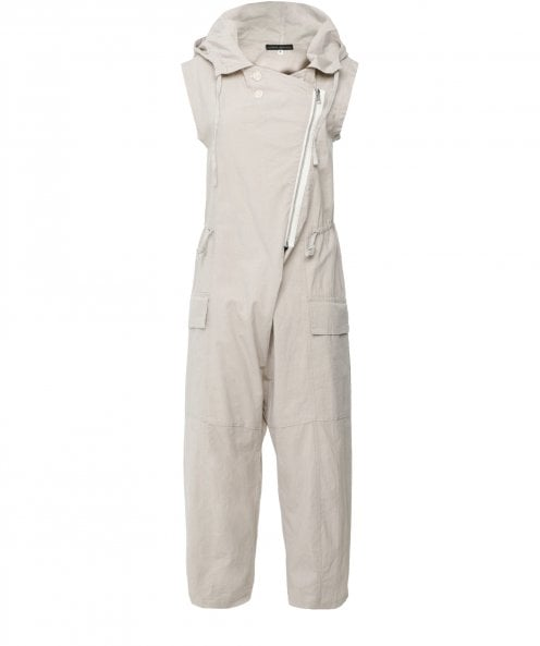 Lurdes Bergada Hooded Zip Jumpsuit