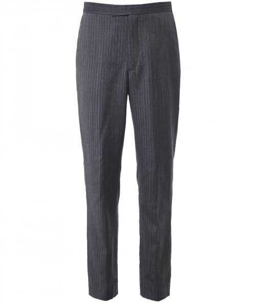 Favourbrook Wool Wedding Stripe Westminster Cavalry Trousers