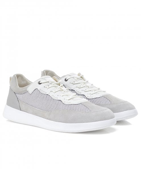Geox Suede Mix Kennet Trainers