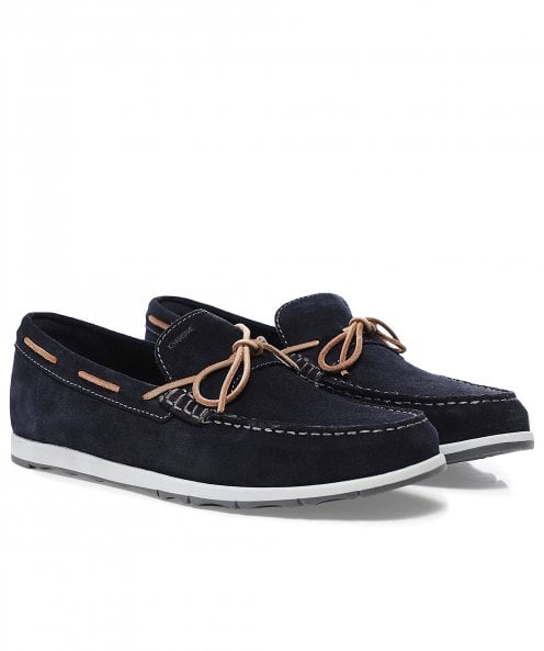 Geox Suede Calarossa Loafers