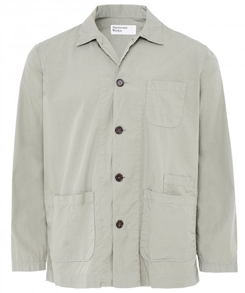 Universal Works Poplin Cotton Bakers Overshirt