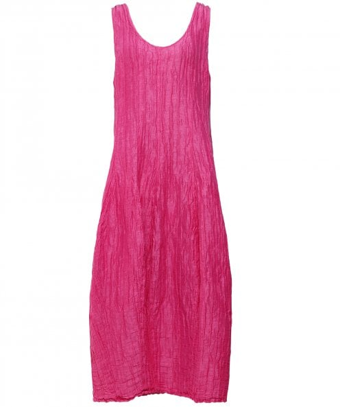 Grizas Linen & Silk Sleeveless Maxi Dress