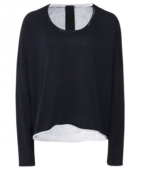 Rundholz Oversized Double Faced Jumper