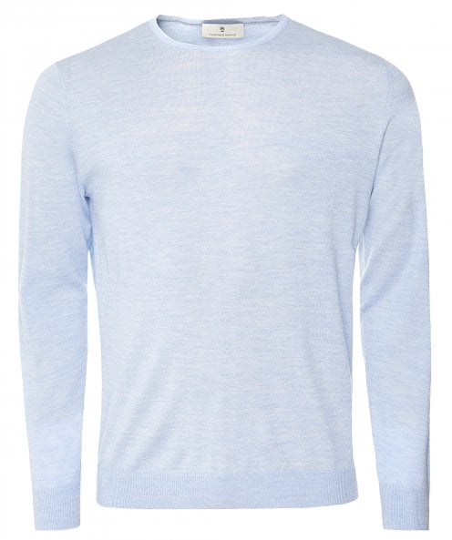 Thomas Maine Merino Wool Crew Neck Jumper