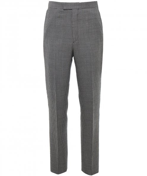 Favourbrook Wool High Waist Houndstooth Trousers