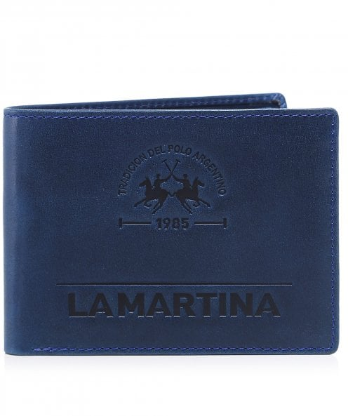 La Martina Leather Coin Wallet