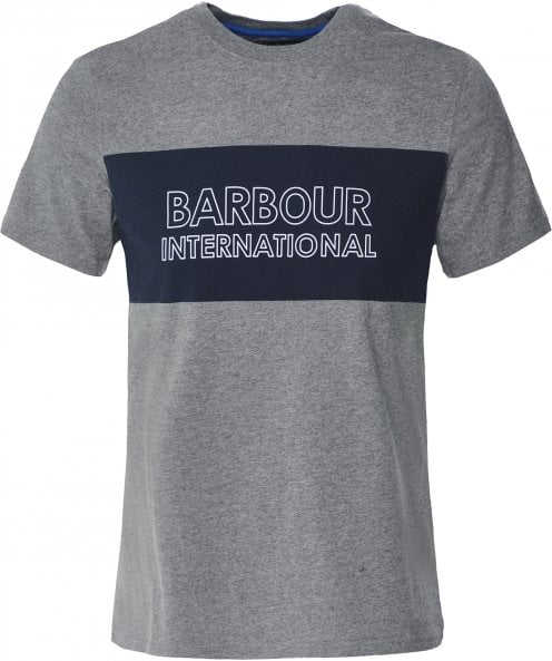 Barbour International Crew Neck Logo Panel T-Shirt