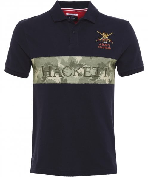 Hackett Classic Fit Limited Edition Army Polo Shirt