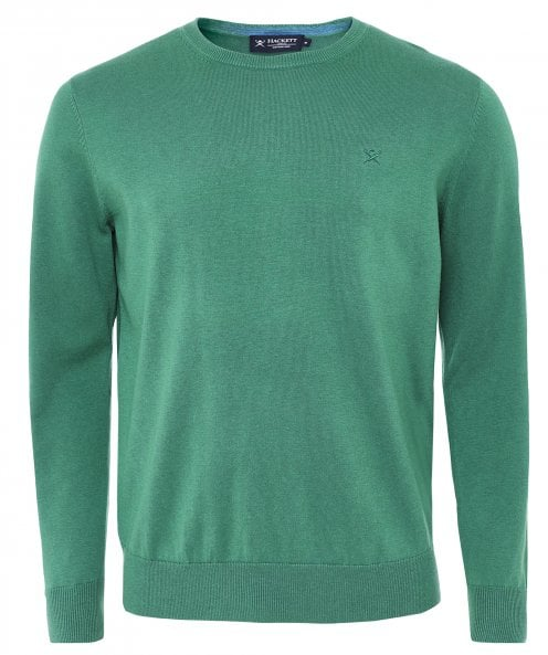 Hackett Cotton Silk Crew Neck Jumper