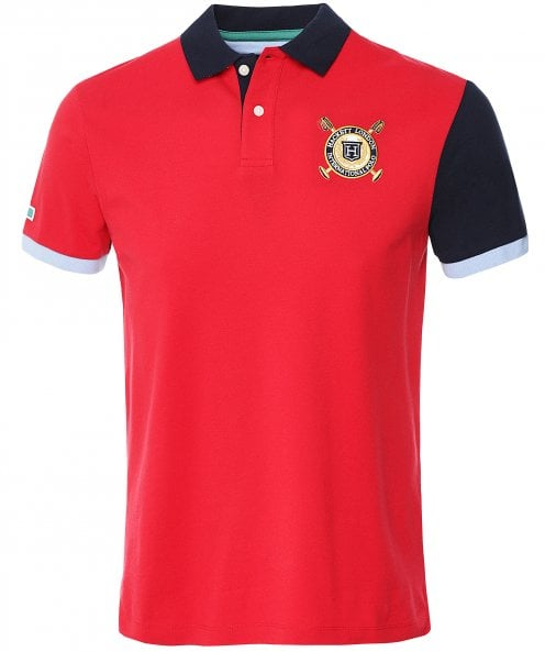 Hackett Classic Fit Reverse Sash Polo Shirt