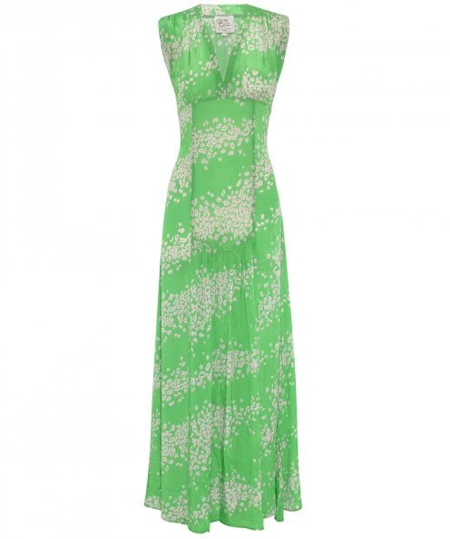 Ossie Clark x Primrose Park Jupiter Sleeveless Maxi Dress