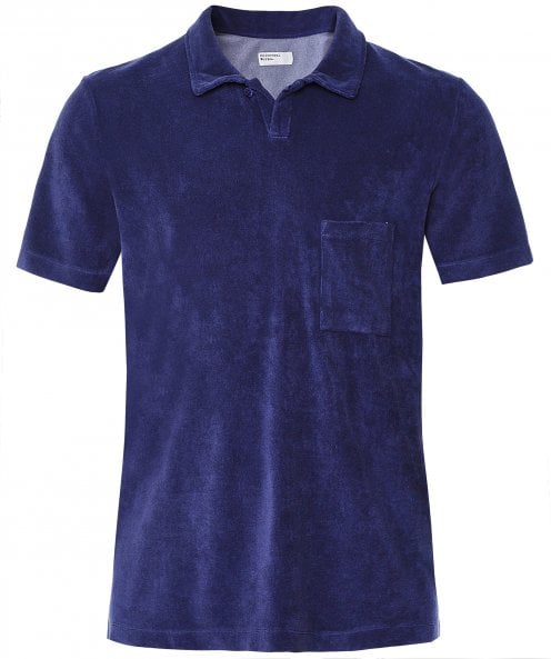 Universal Works Terry Fleece Vacation Polo Shirt