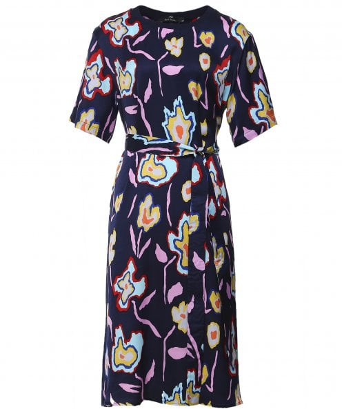 Paul Smith Floral Print Shift Dress