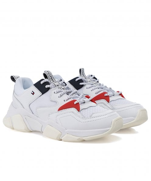 Tommy Hilfiger Chunky Mixed Textile Trainers