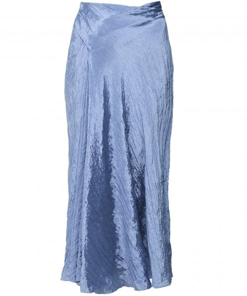 Vince Textured Drape Skirt