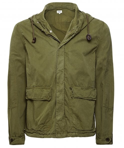 Hartford Cotton Hooded Denver Jacket