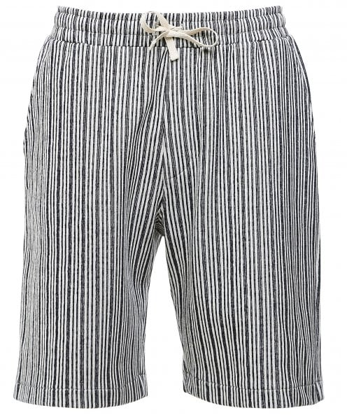 Oliver Spencer Jersey Striped Weston Shorts
