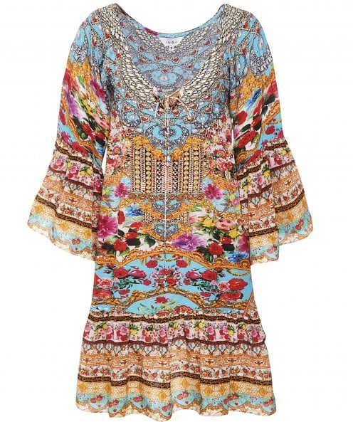 Inoa Covent Garden Silk Gypsy Dress