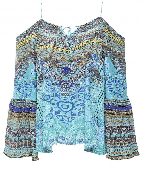 Inoa Atlantis Silk Gypsy Top