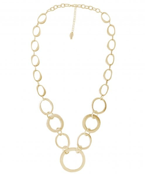 Nouv-Elle Long Metal Chain Necklace