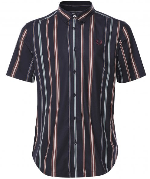 Fred Perry Short Sleeve Stripe Shirt M8563 608