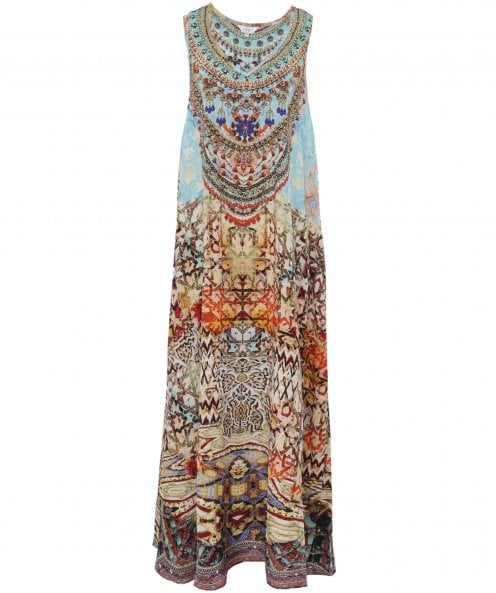 Inoa Arizona Silk Maxi Dress