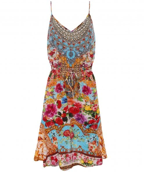 Inoa Covent Garden Silk Flirt Mini Dress