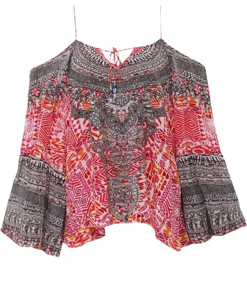 Inoa Silk Gypsy Top