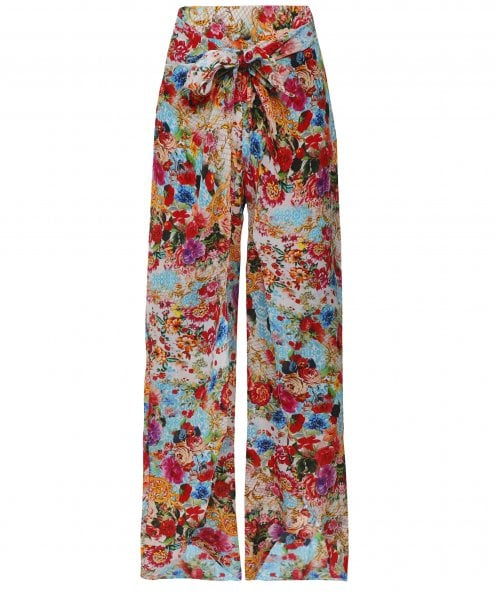 Inoa Covent Garden Silk Fisherman Pants