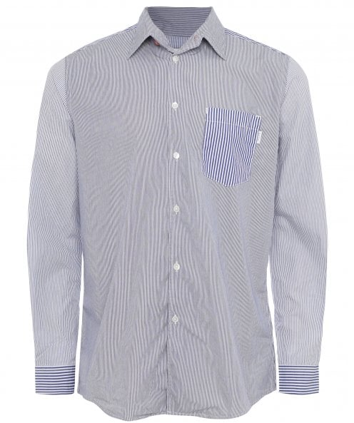 Paul Smith Striped Panel Shirt