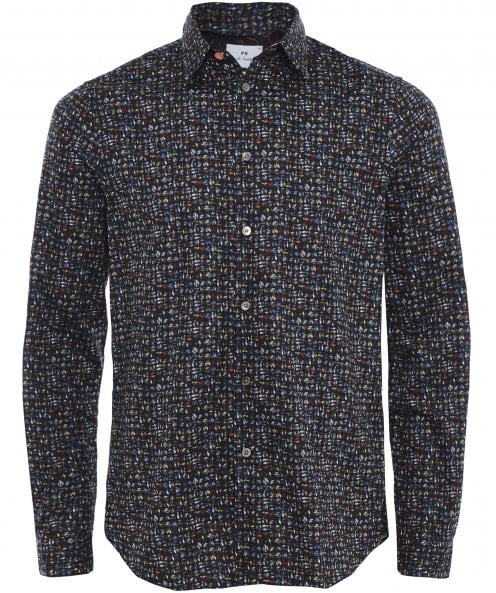 Paul Smith Tailored Fit Rope Print Shirt