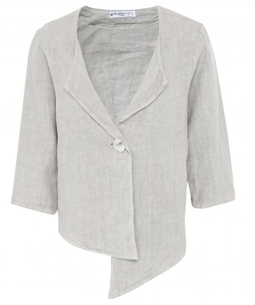 Blueberry Italia Short Linen Jacket