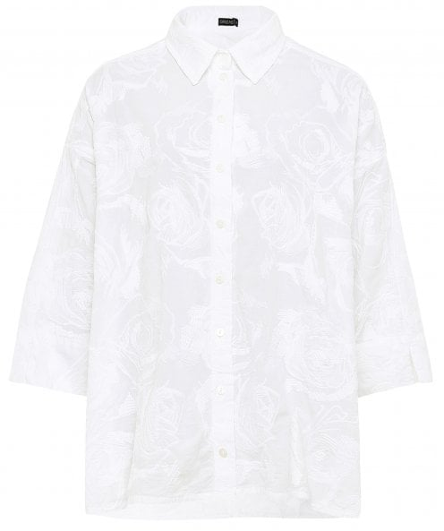 Grizas Floral Embroidered Shirt