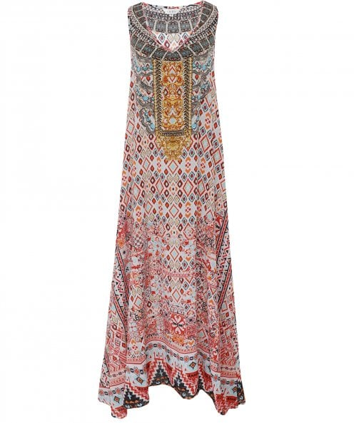Inoa Aleppo Silk Maxi Dress