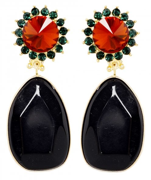 Uzurii Monroe Stone Drop Earrings