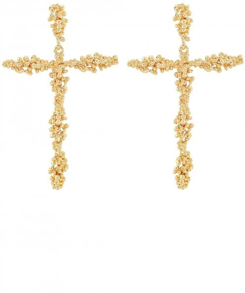 Uzurii Holy Cross Earrings