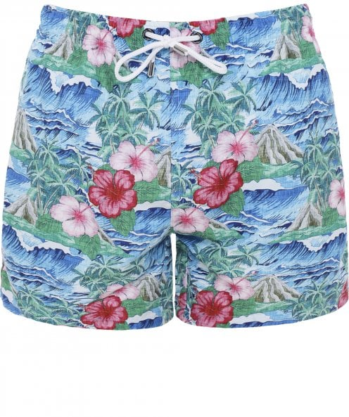 Franks Floral Oahu Swim Shorts