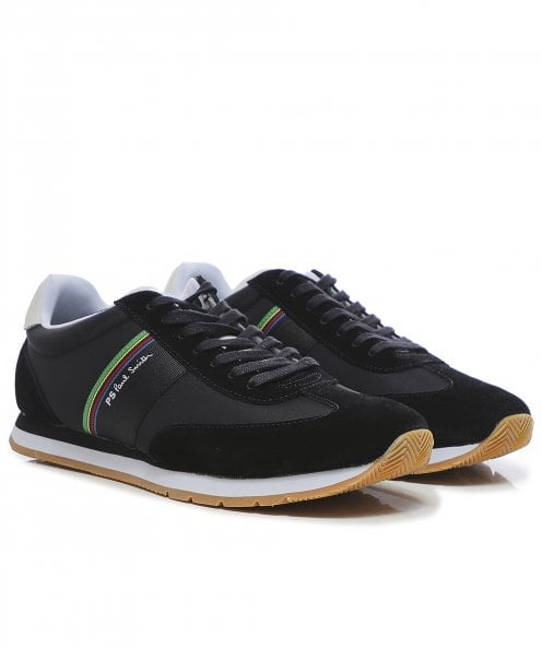 Paul Smith Suede Trim Prince Trainers