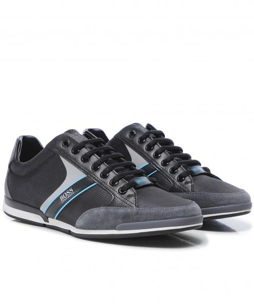BOSS Mixed Panel Saturn_Lowp_mx Trainers