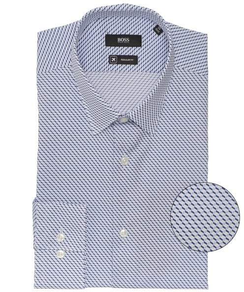 BOSS Regular Fit Geometric Print Eliott Shirt