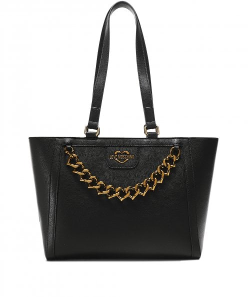 Moschino Love Moschino Chain Front Tote Bag