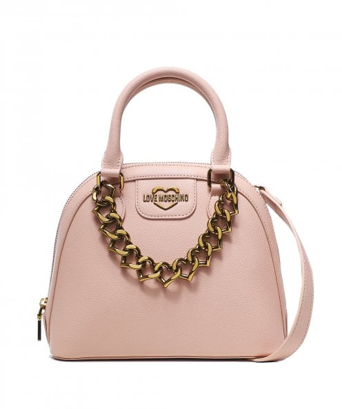 Moschino Love Moschino Chain Front Shoulder Bag