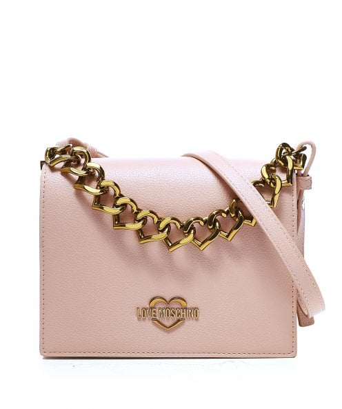 Love Moschino Chain Front Crossbody Bag