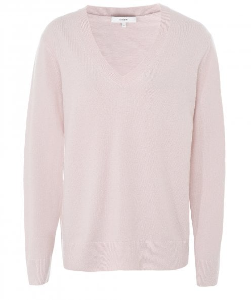 Vince Weekend Cashmere V-Neck Jumper