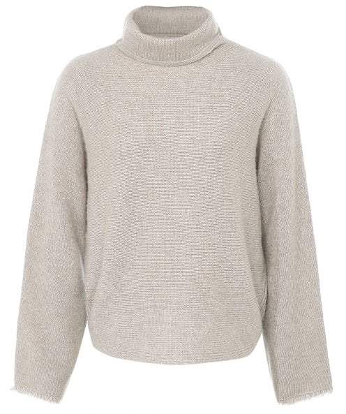 Vince Cashmere Blend Dolman Sleeve Turtleneck