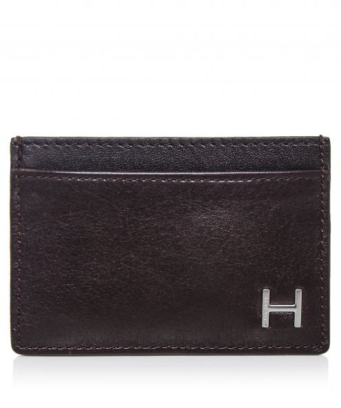 Hackett Leather H Card Holder