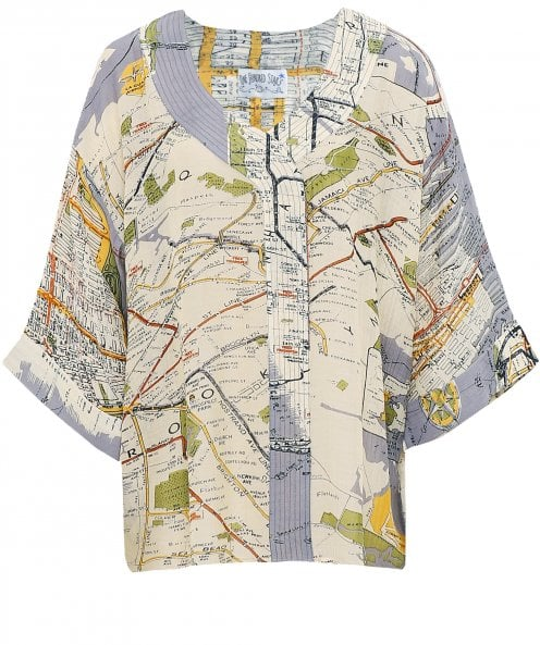 One Hundred Stars New York City Map Top