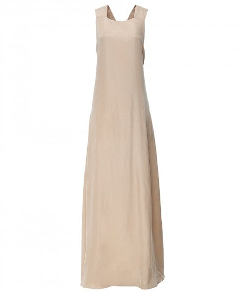 The Line Project Cross Back Maxi Dress